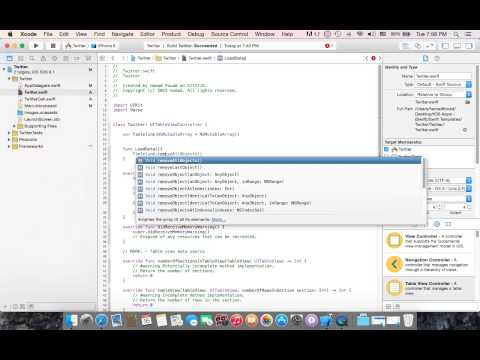Make Twitter Clone App in Swift Using Parse Part One