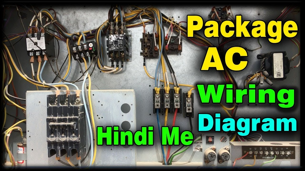 medium resolution of cerrier package unit semi hermetic compressor one with three motor wiring diagram learn practically