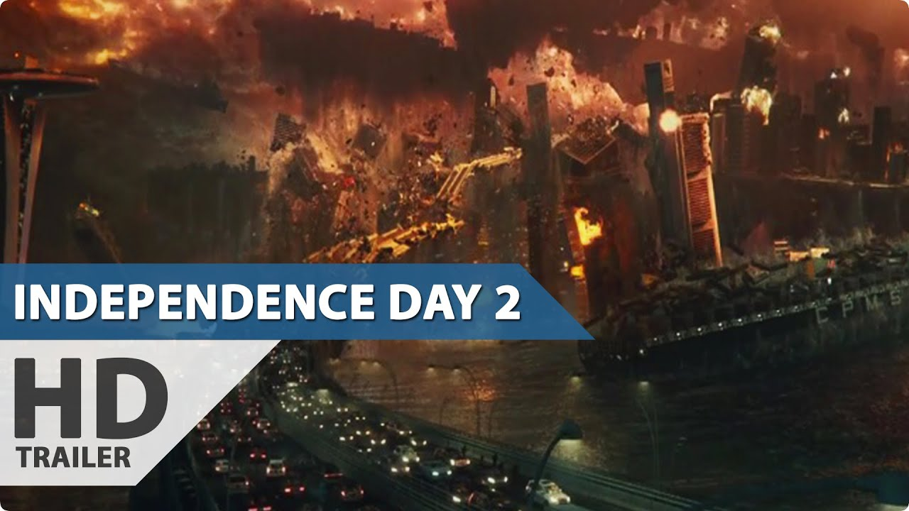 Independence Day 2 Resurgence Trailer 2 2016 Super Bowl