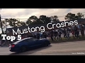 Top 5 Ford Mustang Crashes 2017 mp3