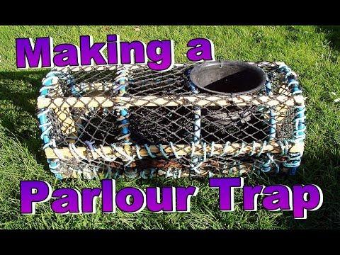 🦀 Making A Parlour Pot, Net Trap & Baiting Crab Pot, Lobster Pot, Lobster Trap,