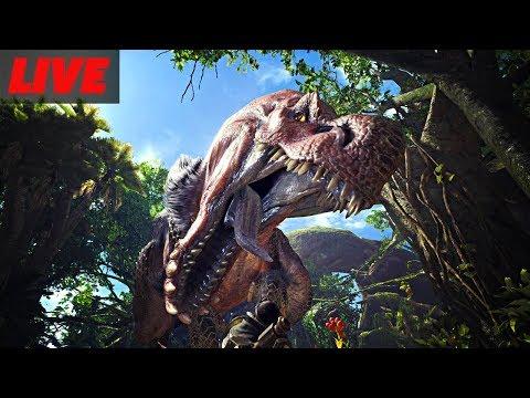 Monster Hunter World Open Beta Live