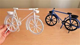 Kağıttan Bisiklet Nasıl Yapılır? How to Make Paper Cycle - Paper Crafts