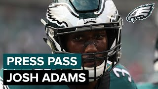 RB Josh Adams Ready To Step Up In Jay Ajayi's Absence | Eagles Press Pass