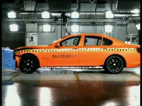 Nuova BMW Serie 7 - Crash test