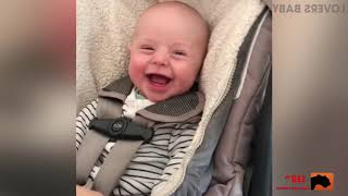 TOP 5 BEST FUNNY Funny Baby Laughing Hysterically  - Cute Baby Video