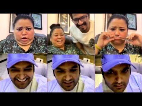 Kapil Sharma NAILED IT! Bharti Singh & Hubby Haarsh Non-Stop Laughing On Back 2 Back JOKES