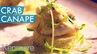 Kyle Peterson's Imitation Vs Reality Crab Canape Recipe | Starving Artist 2014
