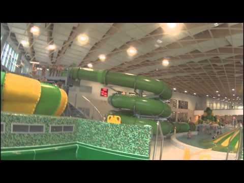 Aquapark Koszalin - zjeżdżalnie Sony Action Cam