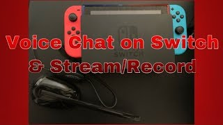 How To Voice Chat on Fortnite Nintendo Switch and Stream/Record at the Same Time!