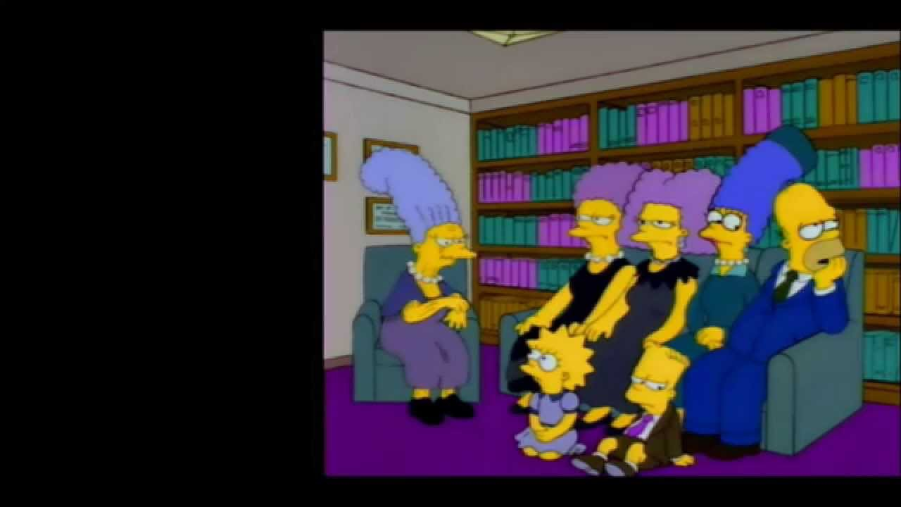 Simpsons Mysteries - Father Bouvier - YouTube