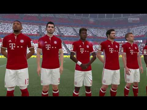 FIFA 17, PS4   FC Bayern München - PSV (2-1) (Nederlands commentaar)