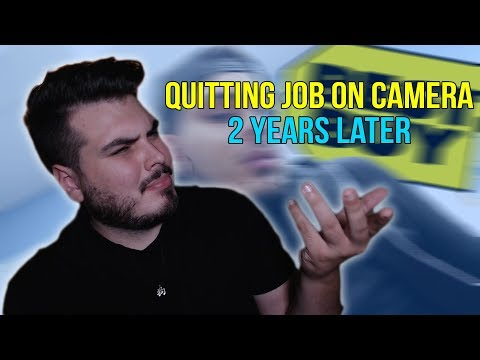 Quitting My Job on CAMERA (2 years later) Response