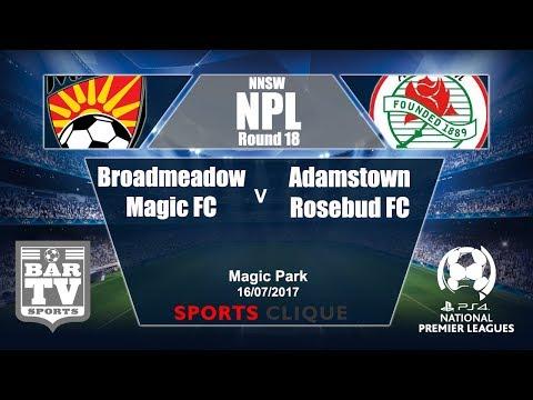 2017 NNSWF NPL - Round 18 - Broadmeadow Magic v Adamstown