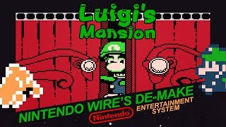Luigiand39s Mansion  Nintendo Entertainment System Nes De-make