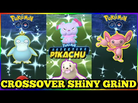 🎟 LiVE 🎫 Shiny Mystery Grind ✨ Detective Pikachu & Pokemon Go Crossover  Event🔍   Exploring NYC