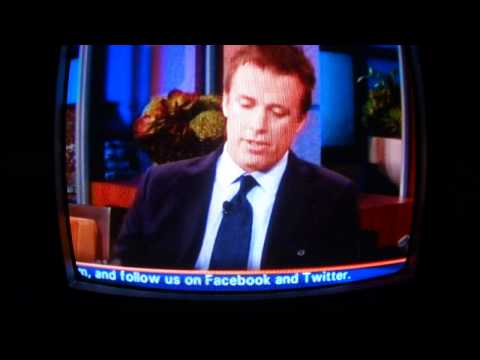 Alabama Tornado April 27, 2011...The Jay Leno Show Interview With Storm Chaser Reed Timmer