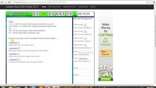 Prediksi UKG SMA Online Bahasa Indonesia  2013