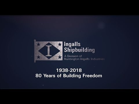 Ingalls Shipbuilding 2018 Year in Review