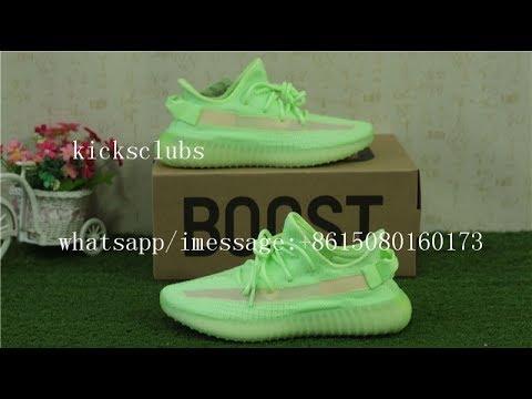 96f3d06f8b49c Addidas Yeezy Boost 350 V2 GID Glow In Dark from kicksclubs.ru - YouTube