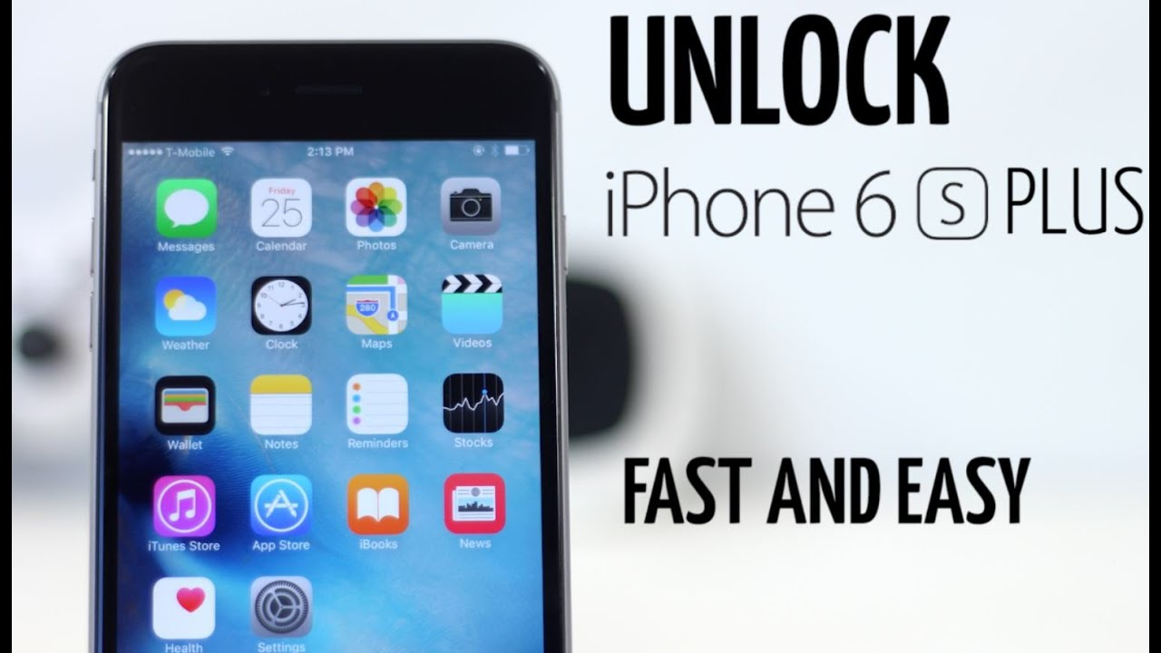 How To Unlock iPhone 6s Plus - At&t, T-mobile, Verizon ,Any GSM Carrier