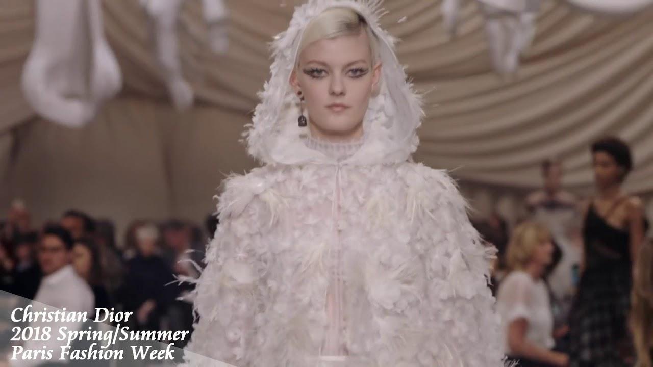 size 40 d9cfe 4513d Christian Dior 2018 S/S fashion show 【巴黎時裝週】
