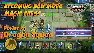 Mobile Legends Magic Chess - Full Dragon Altar Squad