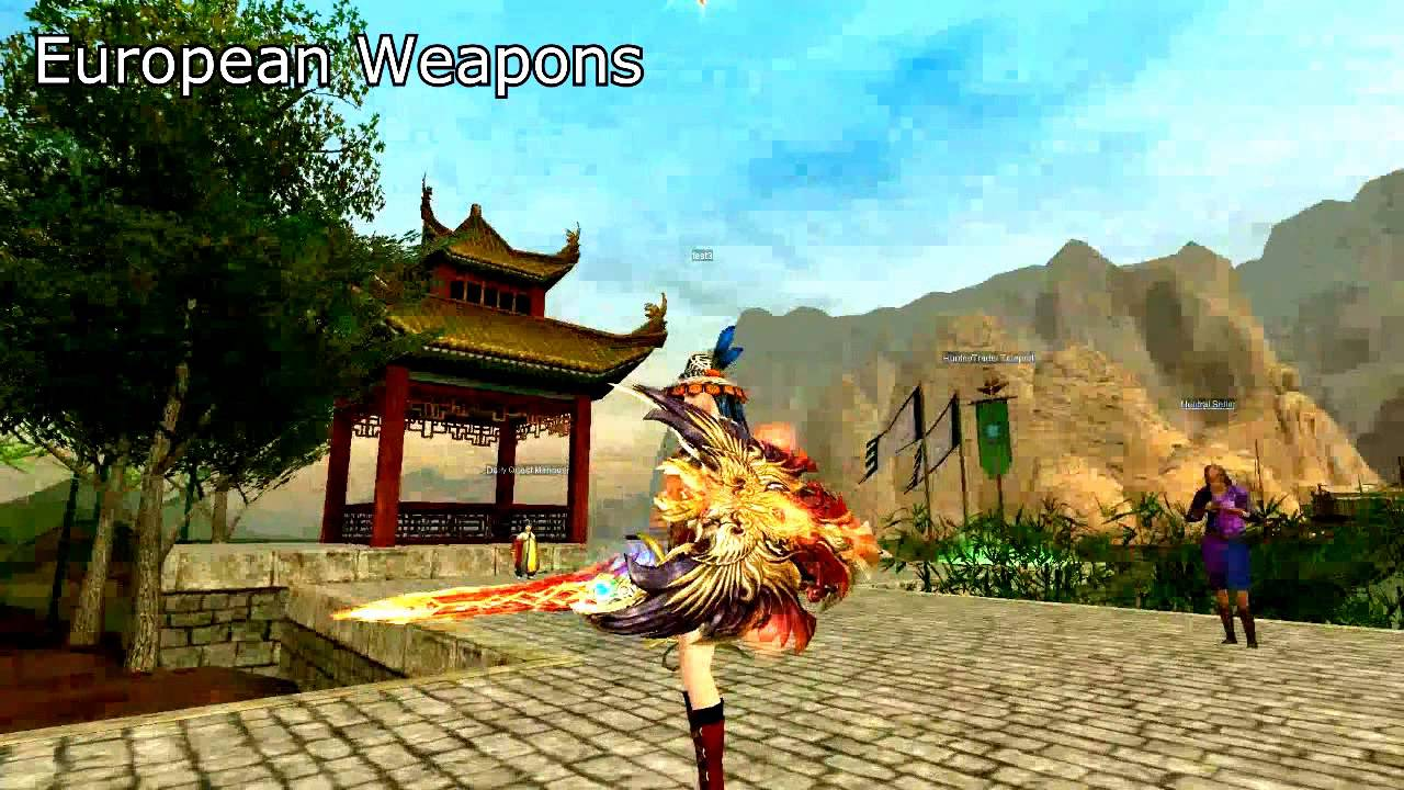 Silkroad Online Teaser Trailer D14 Items Game Play Hd 2017