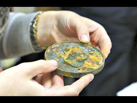 Военный был в шоке когда нашёл 6 банок с редкими коллекционными монетами!