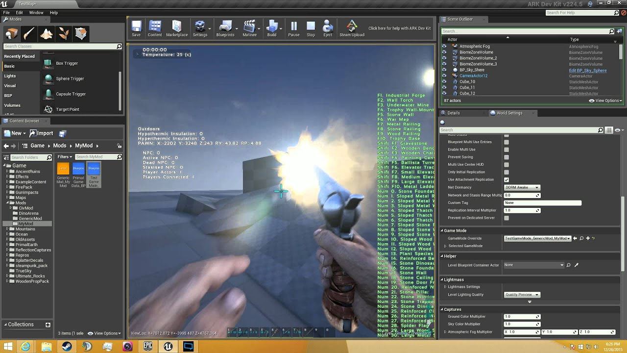 Ark Dev Kit Tutorial: 2 - Setting up your kit to make a mod!