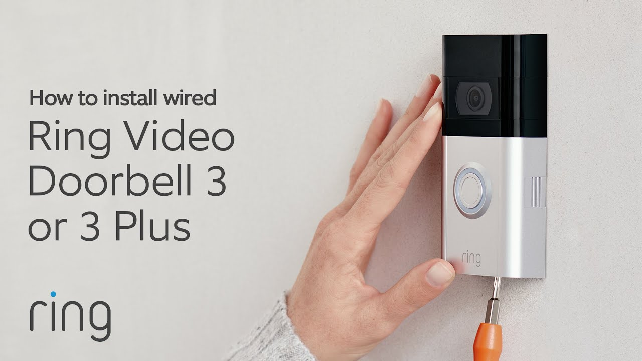 How To Charge Ring Video Doorbell 3 Or 3 Plus Youtube
