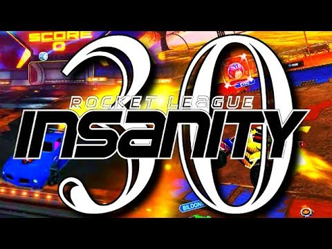 ROCKET LEAGUE INSANITY 30 ! (BEST GOALS, INSANE REDIRECTS, FLICKS, RESETS) thumbnail