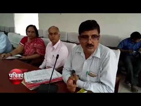District Collector of angry Bharatpur