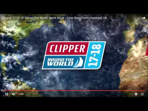 Clipper Round the World Race 17-18 Start from Liverpool