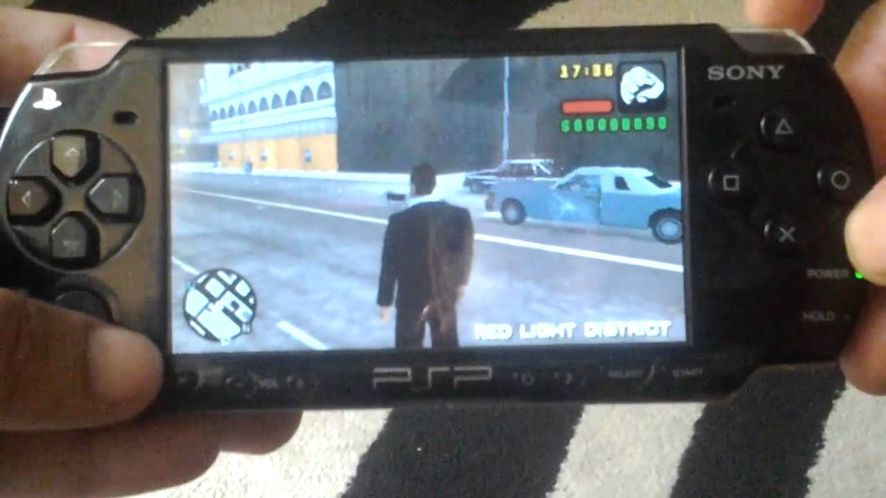 PSP 2000 - GTA Liberty City Stories - YouTube