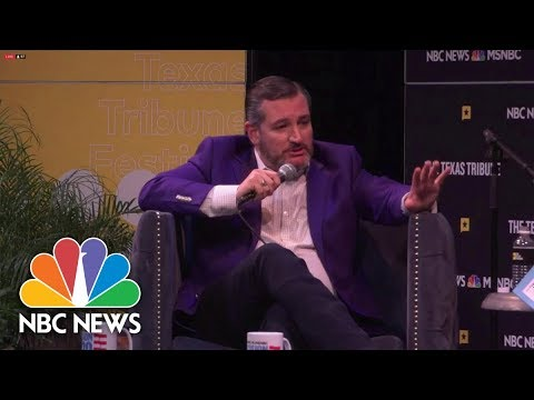 Cruz Claims 'The Data Are Mixed' On Climate Change | NBC News