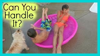 CAN YOU HANDLE THE COLD WATER?!