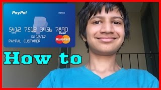 How To Get Paypal Prepaid MasterCard And How To Activate It For Free 2016