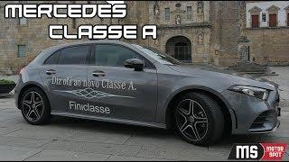 MERCEDES CLASSE A - ENSAIO PORTUGAL (2018) - A nova referência do segmento!