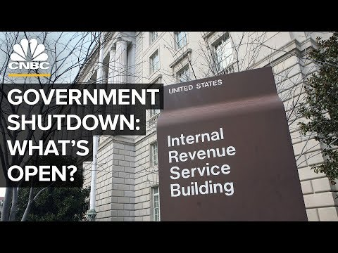 What Agencies Are Affected By The Government Shutdown?