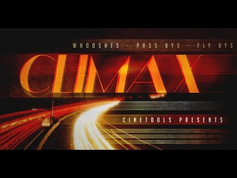"""""""Climax"""" Cinematic SFX Library by Cinetools"""