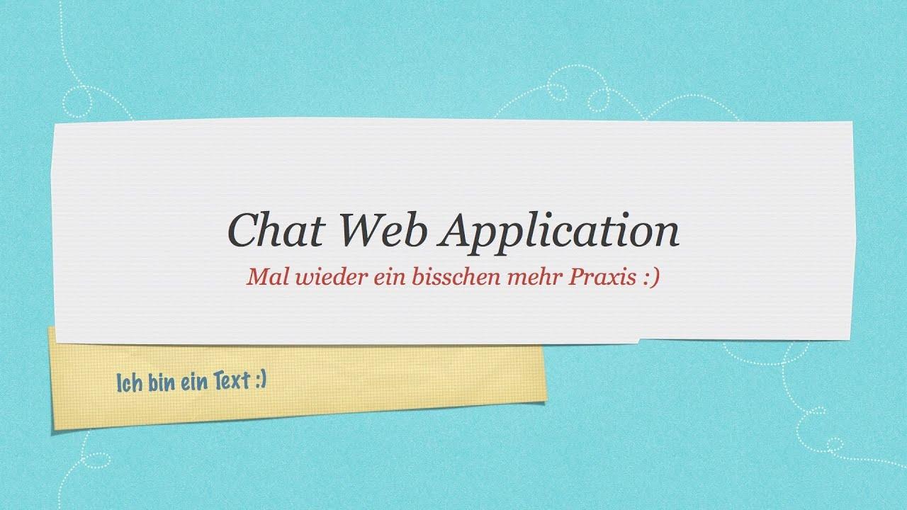 Java chat anwendung tutorial mit servlets 1 web youtube java chat anwendung tutorial mit servlets 1 web baditri Choice Image