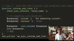 AJAX in WordPress using admin-ajax.php