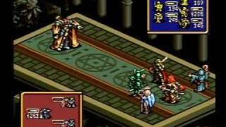 Ogre Battle -- Rashidi Confrontation (SNES Version)