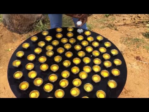 Thumbnail: 75 Poached Eggs - Cooking Poached Eggs in Indian Way - Cooking Lunch For Hard Working People