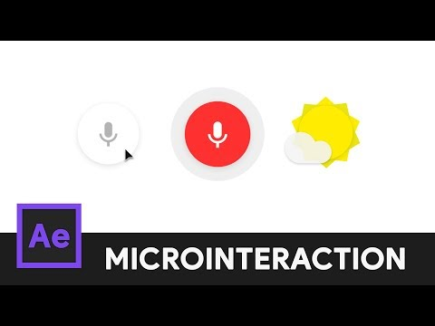 Google Voice Search Icon - After Effects Microinteraction 08