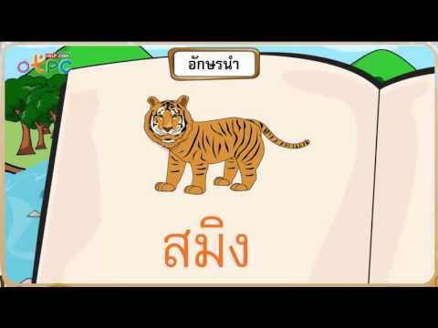 อักษรนำ - สื่อการเรียนการสอน ภาษาไทย ป.2