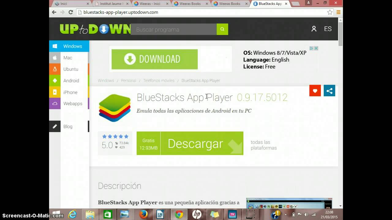 bluestacks app player virus