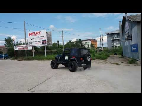 Jeep wrangler exhaust startup by PILOT