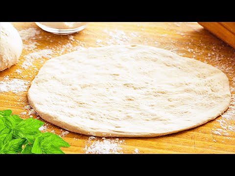 No Yeast Pizza Dough, A Thin Pizza Crust Recipe To Learn How Make Pizza Dough Without Yeast At Home!